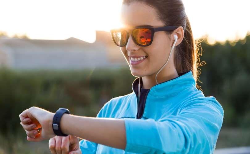 Aplicativo de smartwatch para esportes