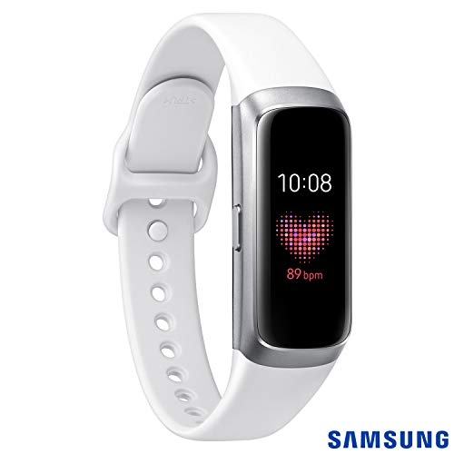 Galaxy Fit, Samsung, SM-R370NZSAZTO, Prata
