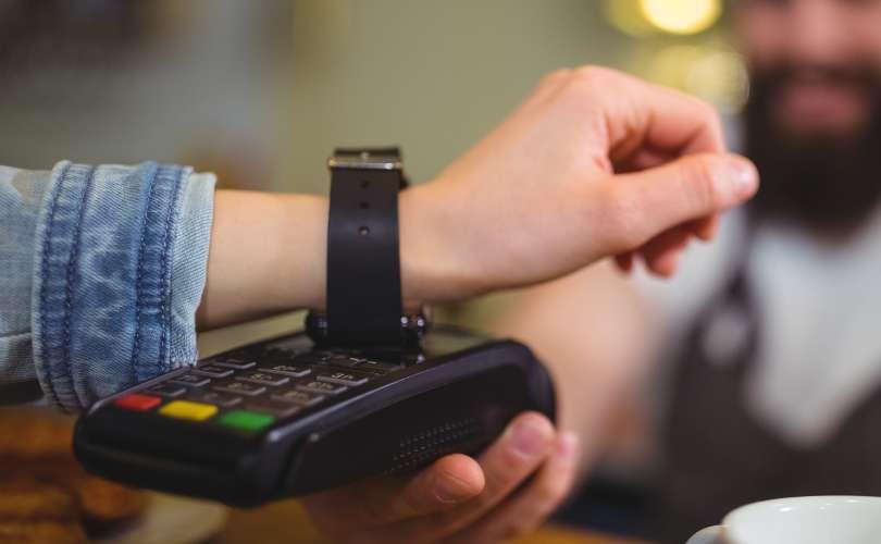 Pagamento pelo smartwatch