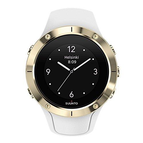 Relógio Suunto Spartan Trainer Gold HR e GPS, Suunto, SS023426000, Smartwatch, Branco/Dourado, Único