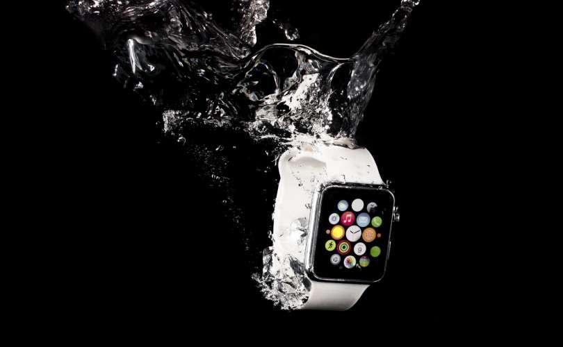 Relógio inteligente com aplicativo