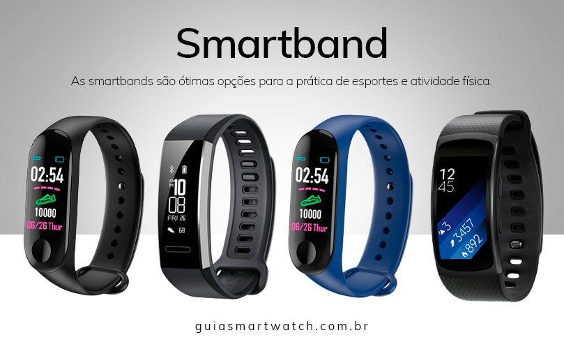 Smartband para prática de esporte e atividade física