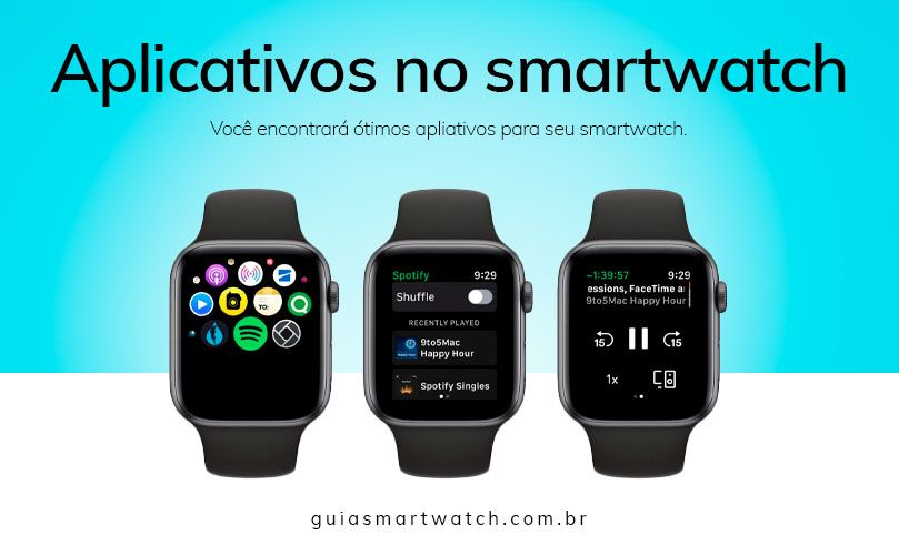 Smartwatch com aplicativos