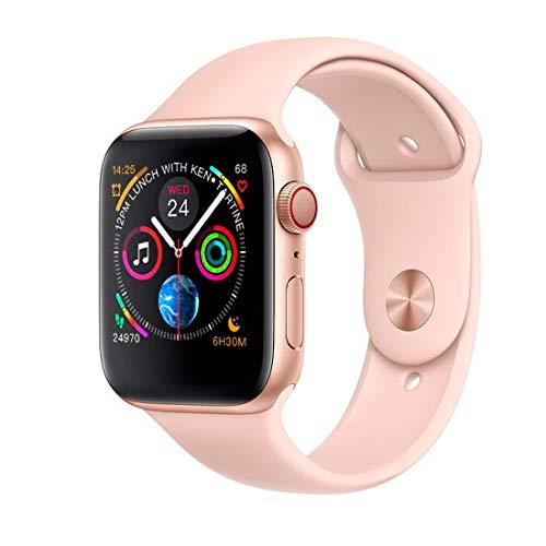 Smartwatch Iwo 8 Rosa Relógio Inteligente 44mm Serie 4 2019